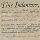 Indenture for land adjoining Jews' Burying Ground, 1771